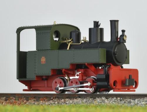 Decauville Dampflok grün - Minitrains 1081  | günstig bestellen bei Modelleisenbahn Center  MCS Vertriebs GmbH