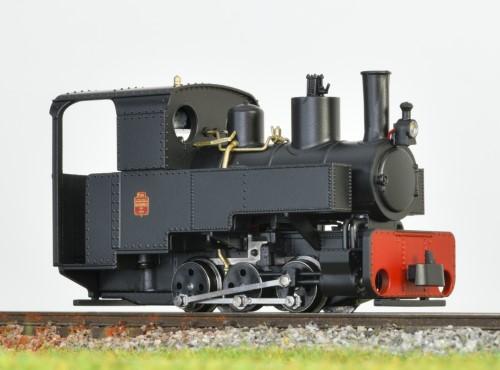 Decauville Dampflok schwarz - Minitrains 1083  | günstig bestellen bei Modelleisenbahn Center  MCS Vertriebs GmbH