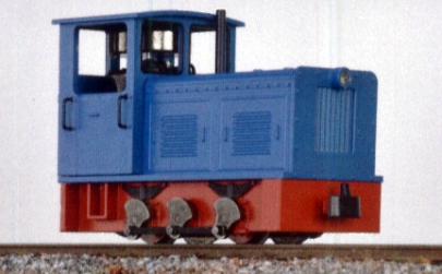Diesellok Ns2f blau, H0e - Minitrains 2023  | günstig bestellen bei Modelleisenbahn Center  MCS Vertriebs GmbH