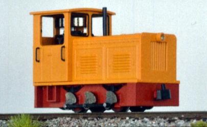 Diesellok Ns2f orange, H0e - Minitrains 2023  | günstig bestellen bei Modelleisenbahn Center  MCS Vertriebs GmbH