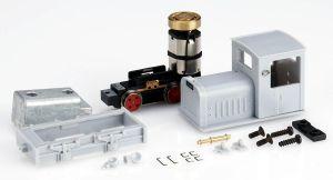 Gmeinder Diesellok, grau unlackiert + unmontiert - Minitrains 5010  | günstig bestellen bei Modelleisenbahn Center  MCS Vertriebs GmbH