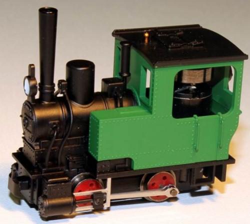 Krauss Dampflok grün ohne Nummer - Minitrains 5044  | günstig bestellen bei Modelleisenbahn Center  MCS Vertriebs GmbH