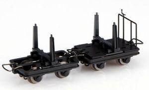 Holzloren, 2 mit Bremse, 2 ungebremst - Minitrains 5113  | günstig bestellen bei Modelleisenbahn Center  MCS Vertriebs GmbH