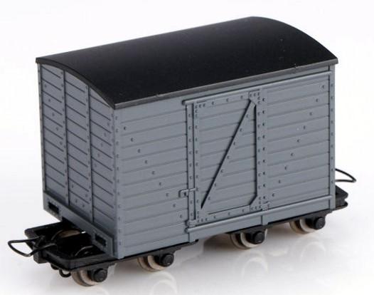 Kastenwagen grau - Minitrains 5124  | günstig bestellen bei Modelleisenbahn Center  MCS Vertriebs GmbH