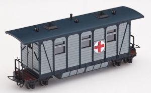 Heeresfeldbahn Lazarettwagen grau - Minitrains 5135  | günstig bestellen bei Modelleisenbahn Center  MCS Vertriebs GmbH