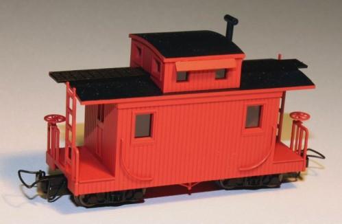 Caboose rot - Minitrains 5139    günstig bestellen bei Modelleisenbahn Center  MCS Vertriebs GmbH