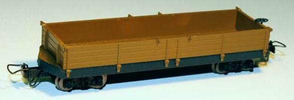 Amerikanischer Hochbordwagen - Minitrains 5140  | günstig bestellen bei Modelleisenbahn Center  MCS Vertriebs GmbH