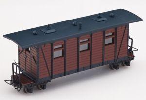 Heeresfeldbahn Personenwagen braun - Minitrains 5144  | günstig bestellen bei Modelleisenbahn Center  MCS Vertriebs GmbH