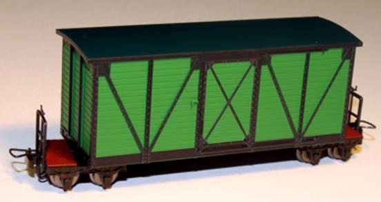 Heeresfeldbahn Kastenwagen grün - Minitrains 5147  | günstig bestellen bei Modelleisenbahn Center  MCS Vertriebs GmbH