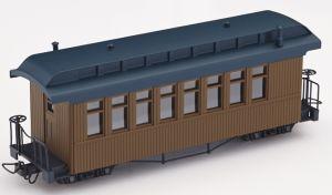 F&C Personenwagen braun ohne  Beschriftung - Minitrains 5151  | günstig bestellen bei Modelleisenbahn Center  MCS Vertriebs GmbH