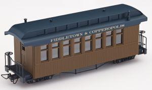 F&C Personenwagen braun mit  Beschriftung - Minitrains 5161  | günstig bestellen bei Modelleisenbahn Center  MCS Vertriebs GmbH