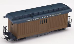F&C Postwagen braun mit  Beschriftung - Minitrains 5164  | günstig bestellen bei Modelleisenbahn Center  MCS Vertriebs GmbH