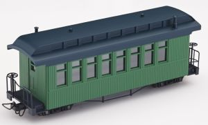 F&C Personenwagen grün ohne  Beschriftung - Minitrains 5171  | günstig bestellen bei Modelleisenbahn Center  MCS Vertriebs GmbH