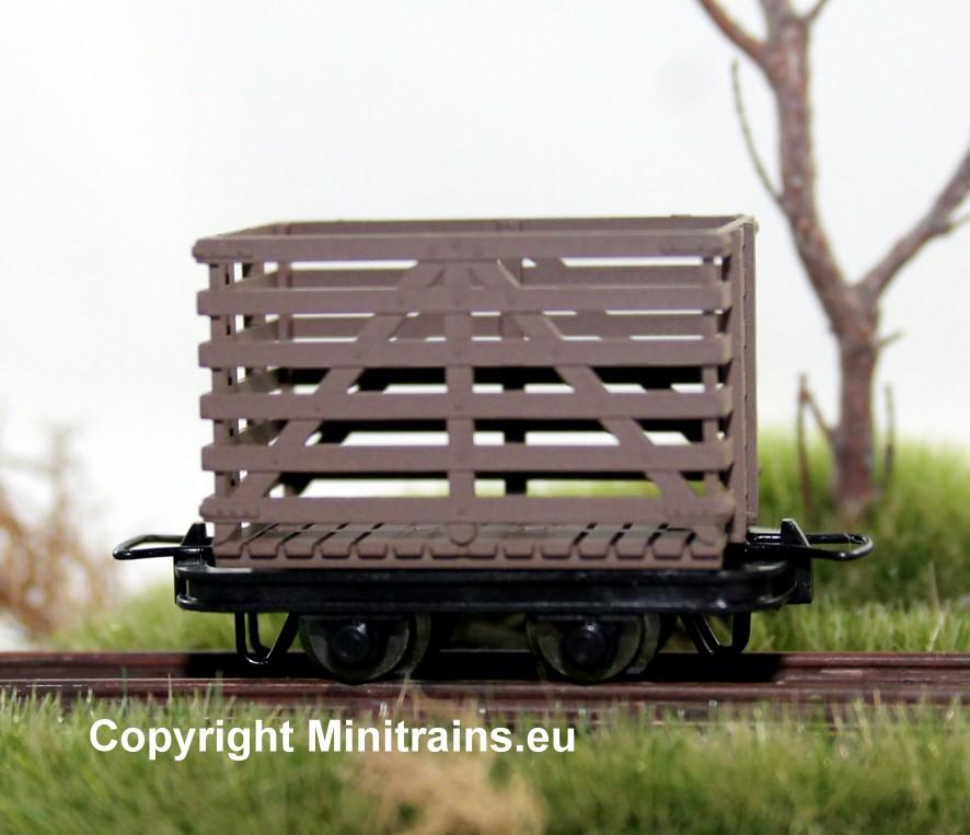Torfwagen, 4 Stück, H0e - Minitrains 5187  | günstig bestellen bei Modelleisenbahn Center  MCS Vertriebs GmbH