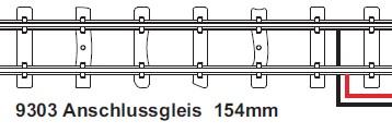 H0e Anschlussgleis gerade 154m mit Feldbahnschwellen  - Minitrains  | günstig bestellen bei Modelleisenbahn Center  MCS Vertriebs GmbH