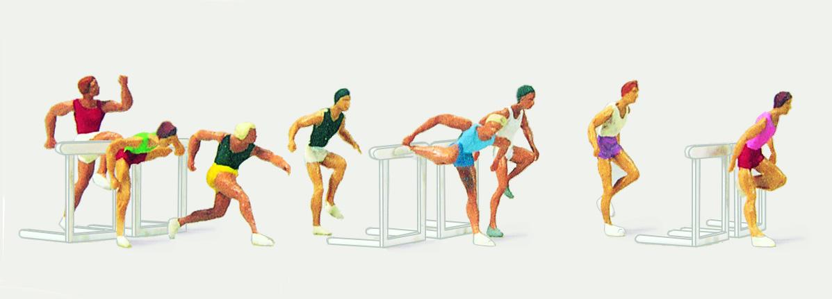 1:87 Sportserie Leichtathletik - Preiser 0212484  | günstig bestellen bei Modelleisenbahn Center  MCS Vertriebs GmbH
