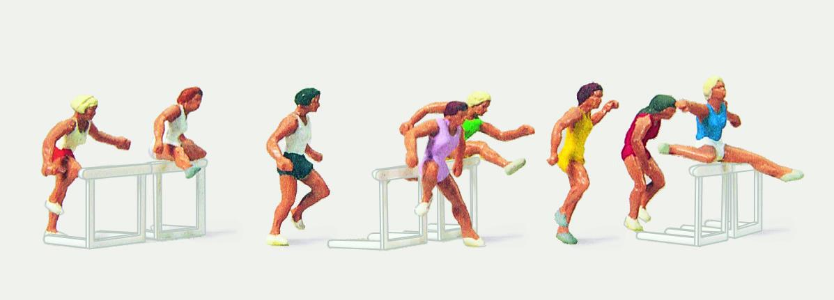 1:87 Sportserie Leichtathletik - Preiser 0212466  | günstig bestellen bei Modelleisenbahn Center  MCS Vertriebs GmbH
