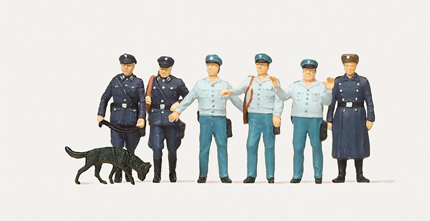 1:87 Polizei (Schutz- und Transportpolizei DDR) - Merten  | günstig bestellen bei Modelleisenbahn Center  MCS Vertriebs GmbH