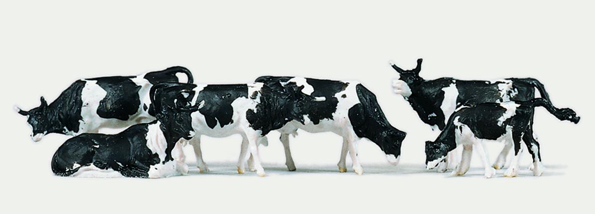 1:87 Kühe, 6 St. - Merten  - preiswerte Standardbemalung | günstig bestellen bei Modelleisenbahn Center  MCS Vertriebs GmbH