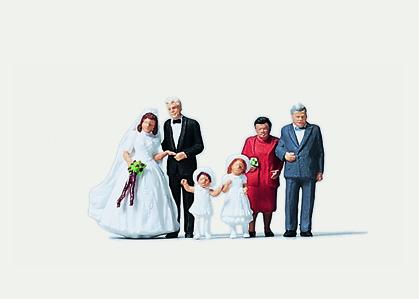 1:160 Hochzeit - Preiser 0272535  | günstig bestellen bei Modelleisenbahn Center  MCS Vertriebs GmbH