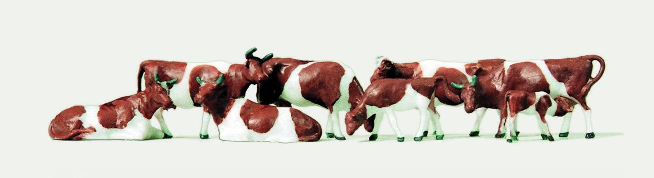 1:120 Rinder, 8 St. - Merten  | günstig bestellen bei Modelleisenbahn Center  MCS Vertriebs GmbH