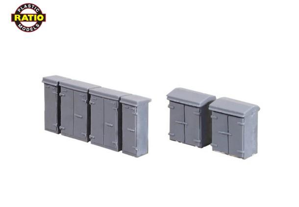N Schaltkästen, Sortiment, 12 Stück - Peco 257    günstig bestellen bei Modelleisenbahn Center  MCS Vertriebs GmbH