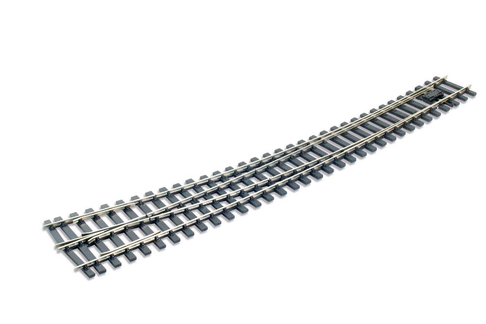 Spur 0 Code 124 Bogenweiche 8° rechts, L=516mm - Peco SLE786BH  | günstig bestellen bei Modelleisenbahn Center  MCS Vertriebs GmbH