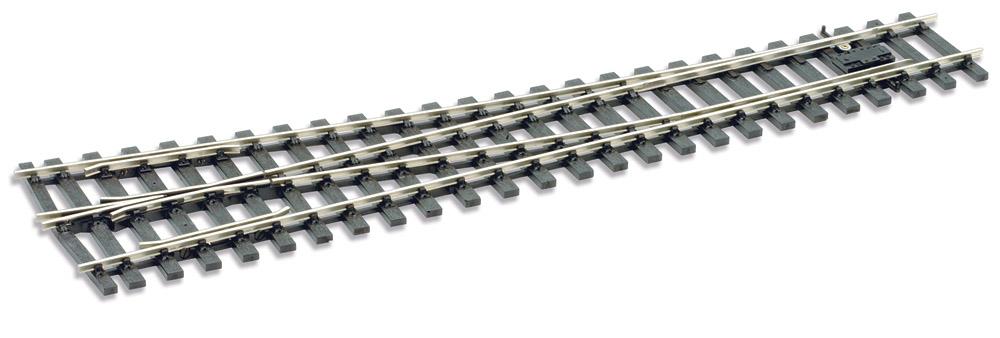 Spur 0 Code 124 Weiche 8° rechts, L=416mm - Peco SLE791BH  | günstig bestellen bei Modelleisenbahn Center  MCS Vertriebs GmbH