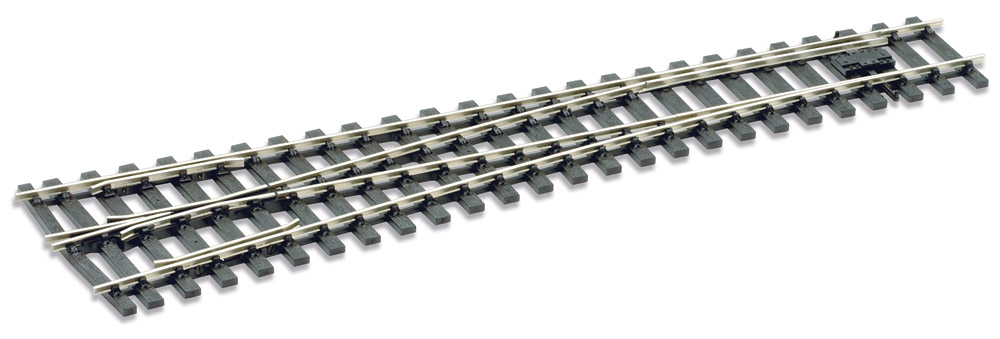 Spur 0 Code 124 Weiche 8° links, L=416mm - Peco SLE792BH  | günstig bestellen bei Modelleisenbahn Center  MCS Vertriebs GmbH