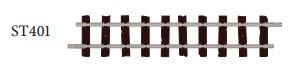 H0e Gleis gerade, L=87mm, 8 Stück - Peco ST401  | günstig bestellen bei Modelleisenbahn Center  MCS Vertriebs GmbH