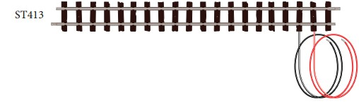 H0e Anschlussgleis gerade, L=174mm, 1 Stück - Peco ST413  | günstig bestellen bei Modelleisenbahn Center  MCS Vertriebs GmbH