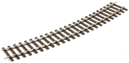 Spur 0 Code 124 Gebogenes Gleis mit Holzschwellen, R2 - Peco ST725 - 8 Stück | günstig bestellen bei Modelleisenbahn Center  MCS Vertriebs GmbH