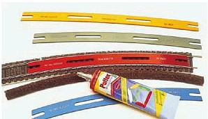 Gleisbau-Schablone H0 + 0e - gerade L=254mm - Peco - mit ausführlicher Anleitung  | günstig bestellen bei Modelleisenbahn Center  MCS Vertriebs GmbH