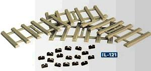 Code 100 Betonschwellen mit extra Schienenstühlchen - Peco  - 96 Stück, Kunststoffausführung - ideal auch als Ladegut | günstig bestellen bei Modelleisenbahn Center  MCS Vertriebs GmbH