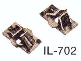Spur 0 Code 124 Schienenstühlchen für den Gleisbau Beutel mit ca. 100 Stück | günstig bestellen bei Modelleisenbahn Center  MCS Vertriebs GmbH