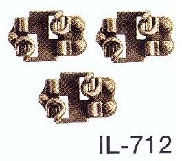 Spur 0 Code 143 - Schienenstühlchen für den Gleisbau - Peco IL712 Beutel mit ca. 100 Stück | günstig bestellen bei Modelleisenbahn Center  MCS Vertriebs GmbH