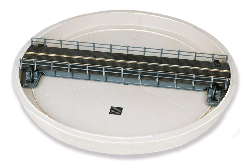 H0 - Drehscheibe mit Grube - Peco LK55  - Maße siehe Details | günstig bestellen bei Modelleisenbahn Center  MCS Vertriebs GmbH