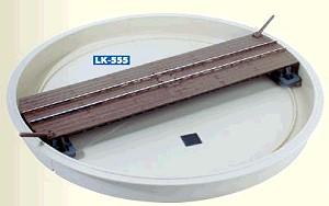 0e - Drehscheibe mit Grube - Peco Schmalspur LK-555  - Maße siehe Details | günstig bestellen bei Modelleisenbahn Center  MCS Vertriebs GmbH