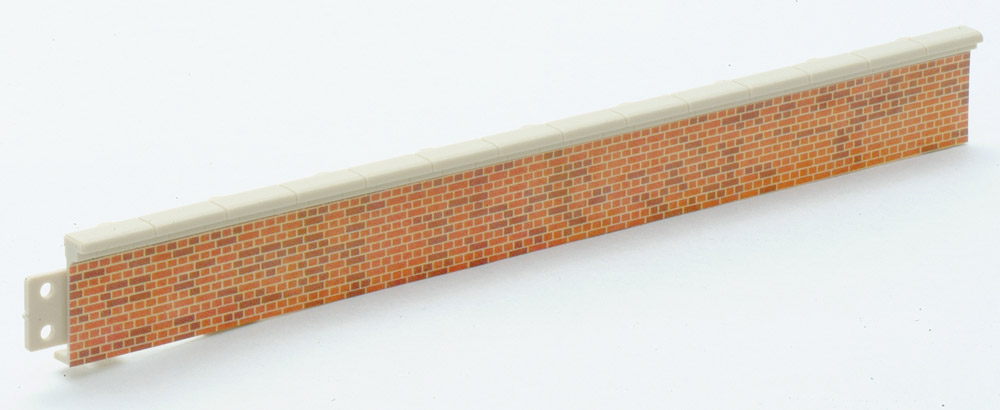 Bahnsteigkanten Ziegelstein, 5 Stück, H=1,9cm  - Peco LK60  - auch als Laderampe verwendbar | günstig bestellen bei Modelleisenbahn Center  MCS Vertriebs GmbH