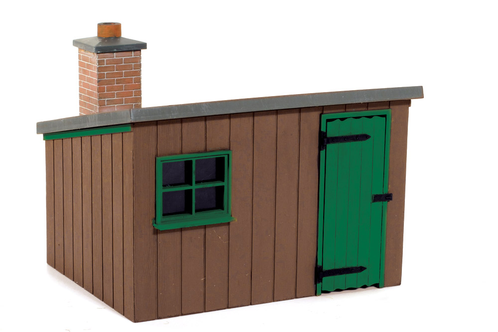 1:45 Hütte aus Holz - Peco LK704  | günstig bestellen bei Modelleisenbahn Center  MCS Vertriebs GmbH