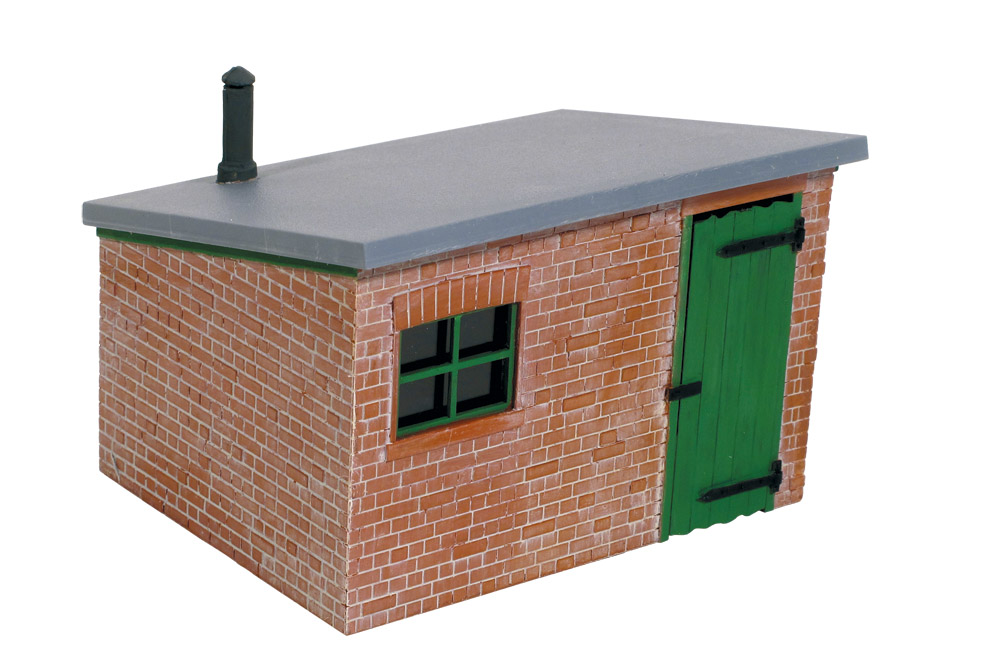 1:45 Hütte aus Ziegelstein - Peco LK705  | günstig bestellen bei Modelleisenbahn Center  MCS Vertriebs GmbH
