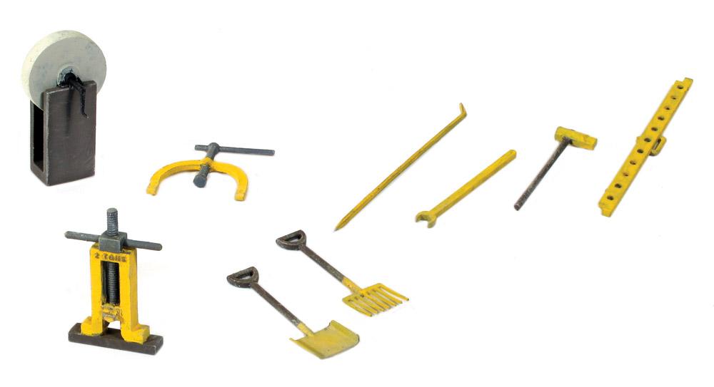 1:45 Werkzeug für Streckenarbeiten - Peco LK758  | günstig bestellen bei Modelleisenbahn Center  MCS Vertriebs GmbH