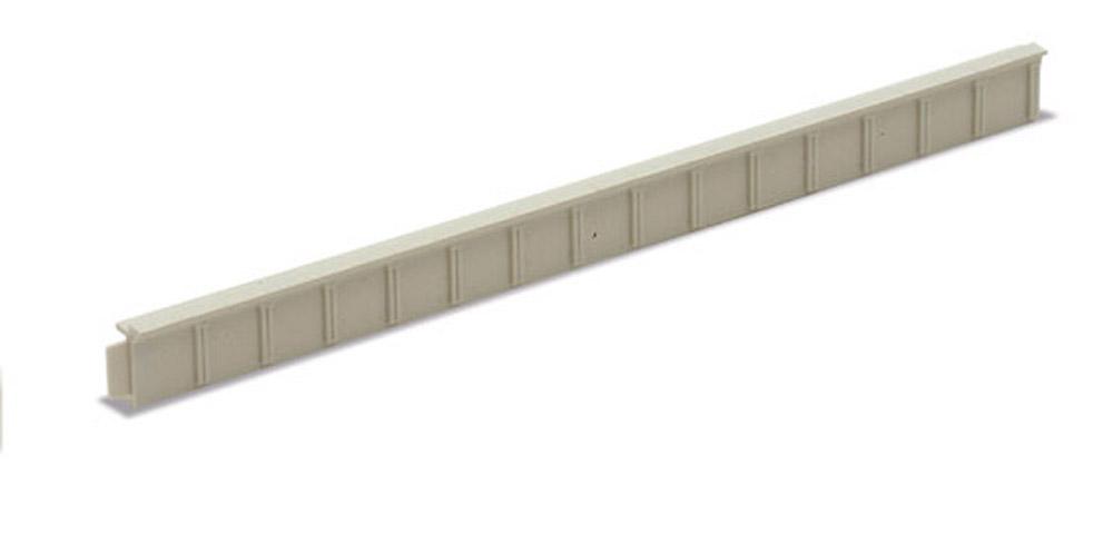 Spur N -Spur N - Bahnsteigkanten Beton, 5 Stück, H=1,2cm  - Peco NB27  - auch als Laderampe verwendbar | günstig bestellen bei Modelleisenbahn Center  MCS Vertriebs GmbH