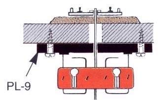 Weichenantrieb, mit langer Übertragungsstange- Peco PL10E  - mit PL9 als justierbarer Unteflurantrieb verwendbar | günstig bestellen bei Modelleisenbahn Center  MCS Vertriebs GmbH