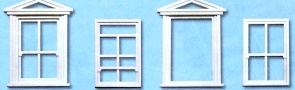 1:45 Fenster und Rahmen, 8 St. - Peco Kunststoff | günstig bestellen bei Modelleisenbahn Center  MCS Vertriebs GmbH
