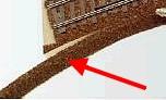 H0m Böschung für Peco Gleisbettungen, L=50cm  | günstig bestellen bei Modelleisenbahn Center  MCS Vertriebs GmbH