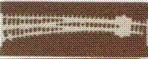 N Gleisbettung für Peco Code 55 SL386F Bogenweiche rechts  | günstig bestellen bei Modelleisenbahn Center  MCS Vertriebs GmbH