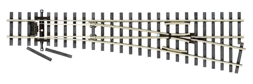 H0n3 Code 75 Schmalspur Weiche rechts - Peco  | günstig bestellen bei Modelleisenbahn Center  MCS Vertriebs GmbH