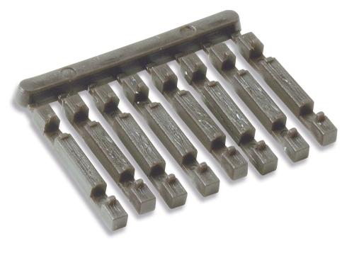 N Code 55 - Schwellenendstück für Holzschwellen - Peco Beutel mit 24 Stück | günstig bestellen bei Modelleisenbahn Center  MCS Vertriebs GmbH