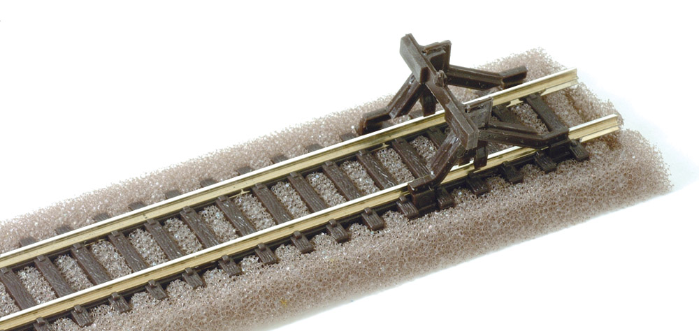N Code 80 - Stahlprofil-Prellbock, 2 Stück - Peco SL340  | günstig bestellen bei Modelleisenbahn Center  MCS Vertriebs GmbH